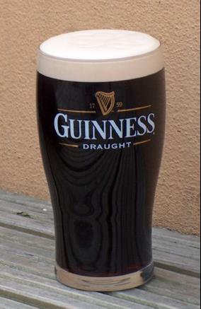 La famosa espuma de Guinness