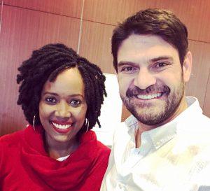 Linda Karuru y David Gomez