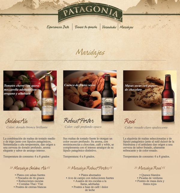 Maridaje Patagonia