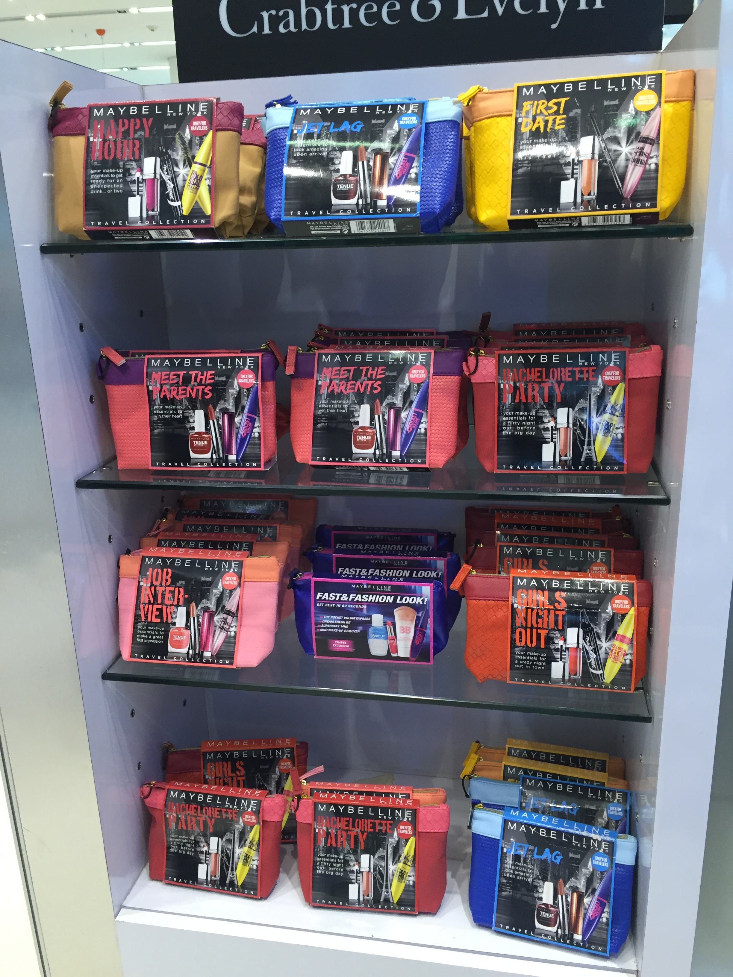 Maybelline Travel Collection