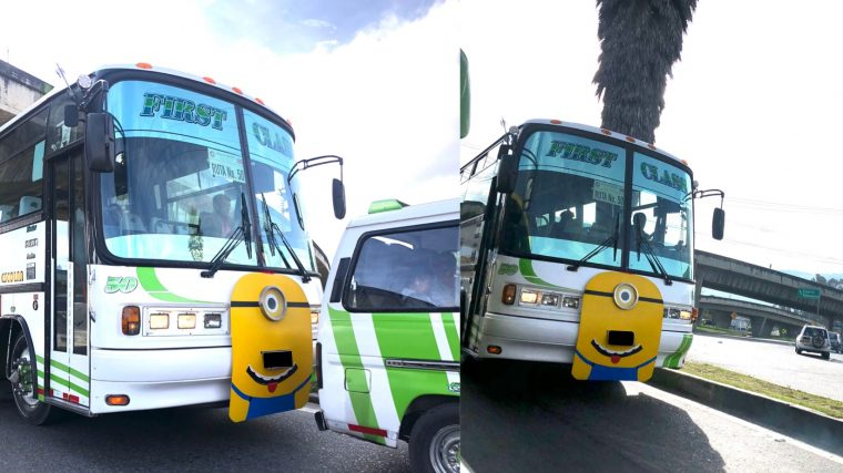 Minion bus escolar