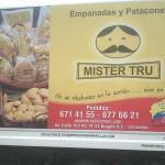 Ejemplos de Marketing: Empanadas Mister Tru, clara comunicación del beneficio