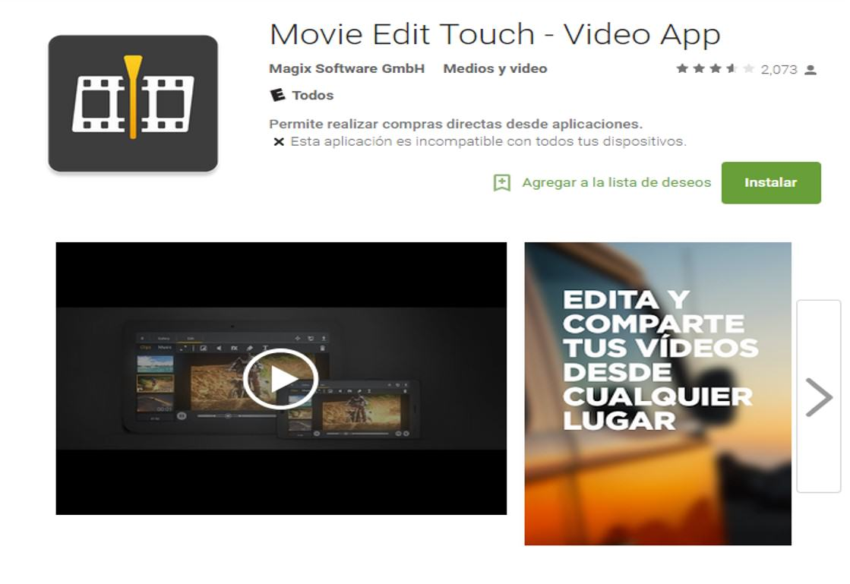 27 aplicaciones para creación y edición de video en el móvil
