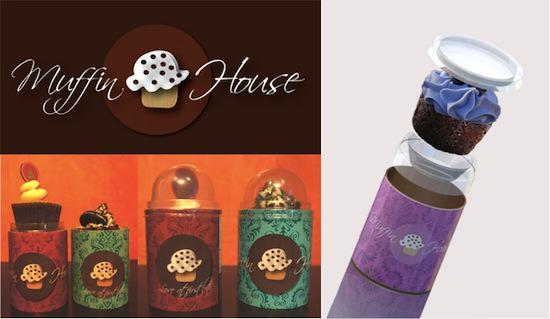 Muffin House - Empaque que protege, exhibe y luce bien para regalar