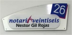 Notaria 26 logo