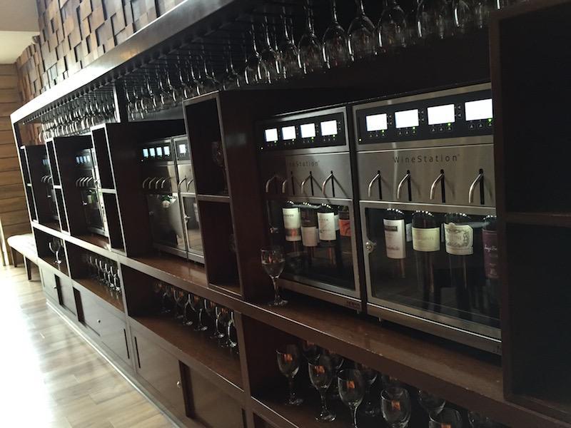 Opciones de vino por copas