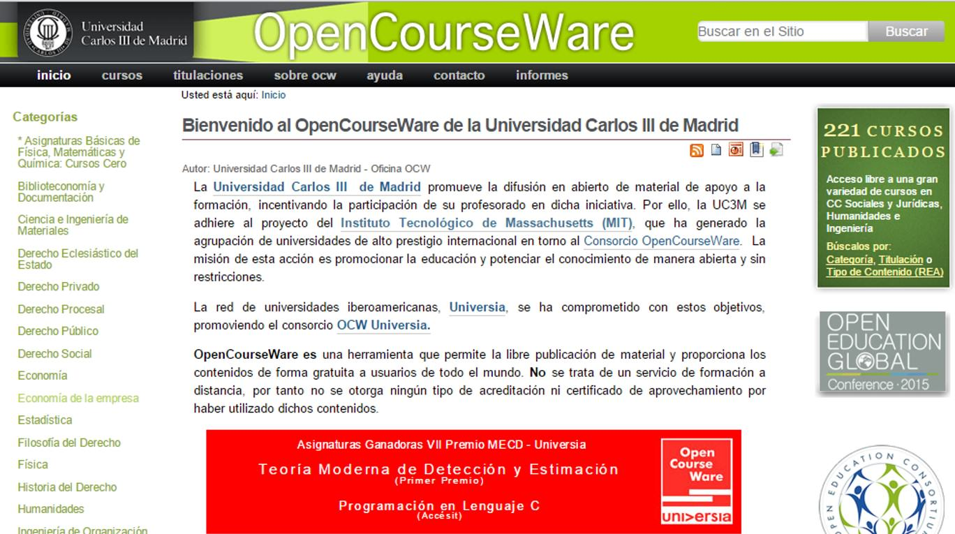 Open Course Ware