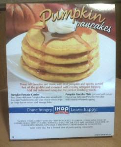 Pancakes de calabaza especiales para Halloween