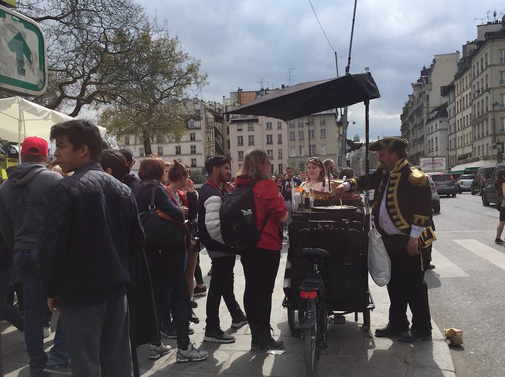 Crepes callejeros Paris
