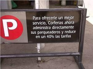 Parqueadero Corferias