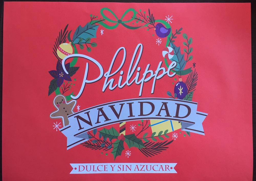 Philippe Navidad dulce y sin azucar