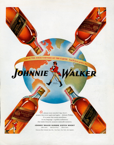 Presencia global Johnnie Walker