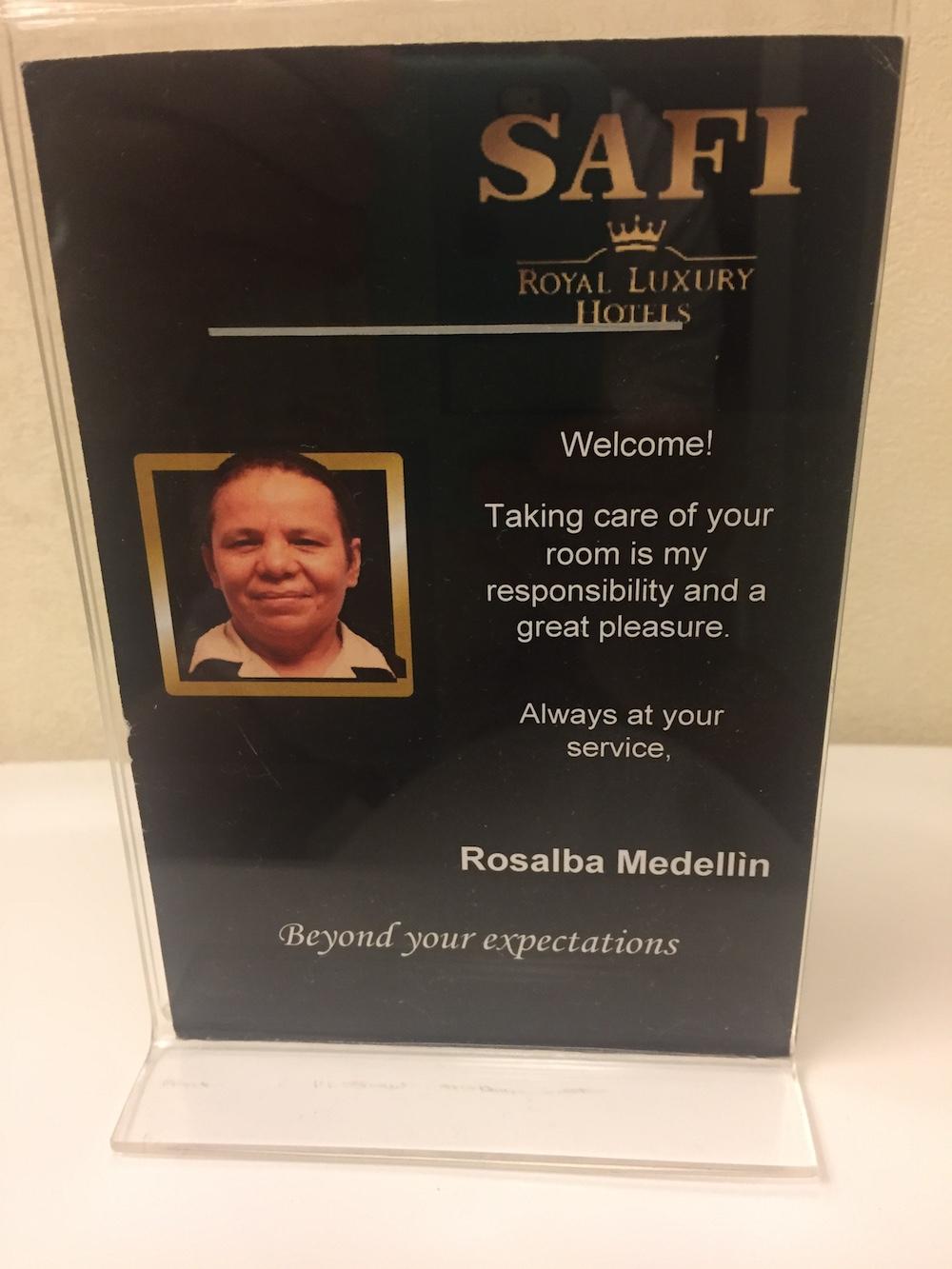Rosalba Medellin Hotel Safi Monterrey