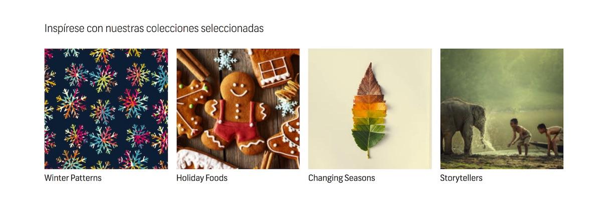 Shutterstock colecciones seleccionadas