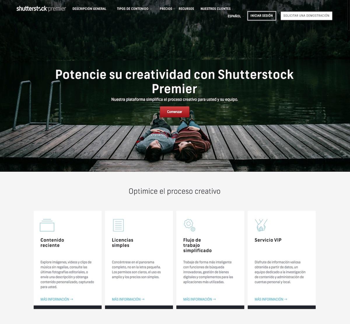Shutterstock equipo