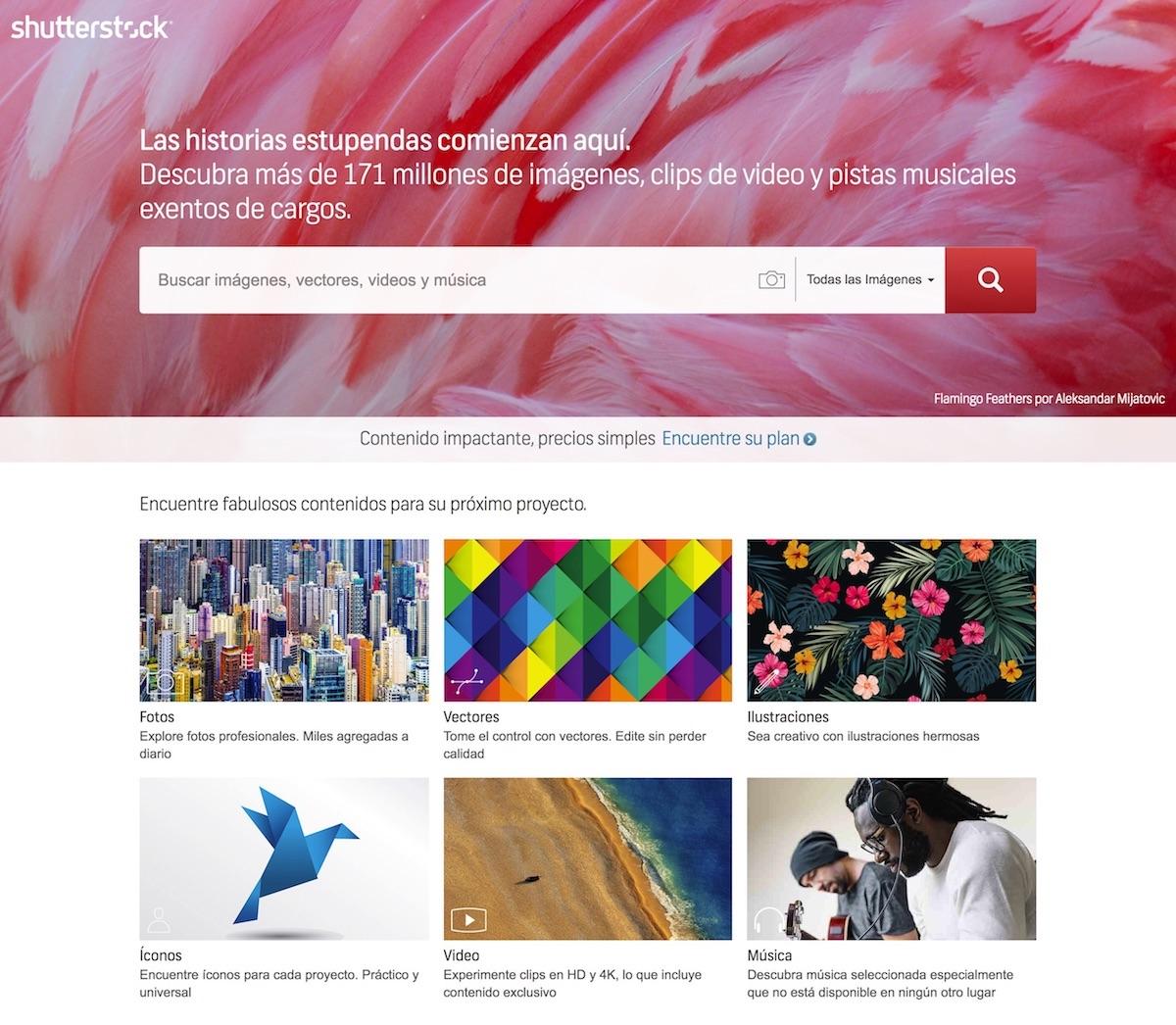 Shutterstock millones de imagenes