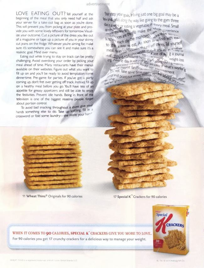 Special K Crackers