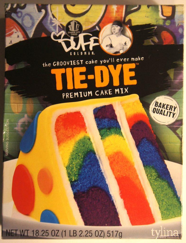 Tie-Dye Cake de Duff