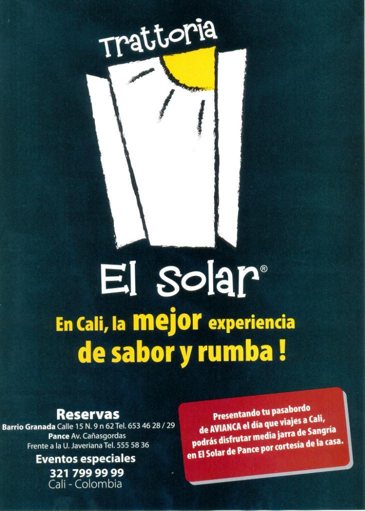 Trattoria El Solar
