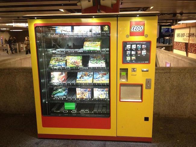 Vending machine de Lego