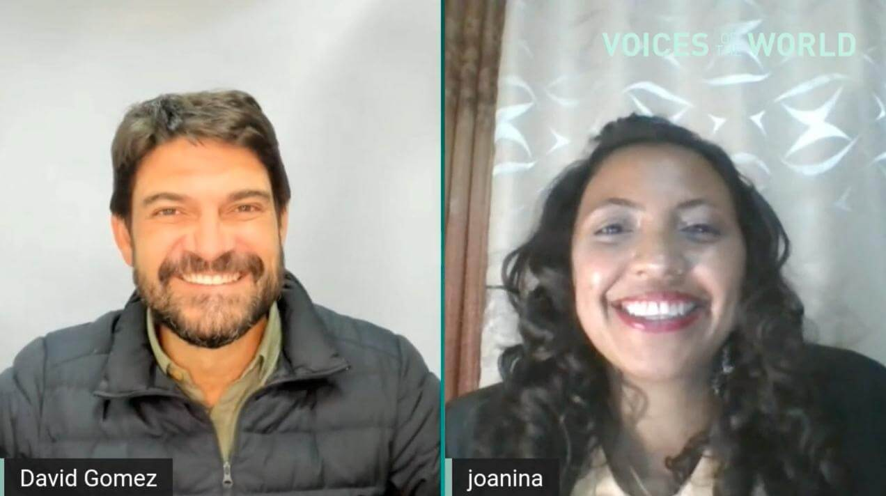 Voices of the World Entrevista Joanina from Madagascar