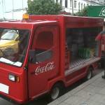 Ejemplos de Marketing: Camiones repartidores eléctricos de Coca-Cola